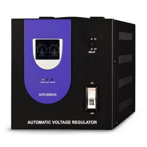 regulador de voltaje de 5000va